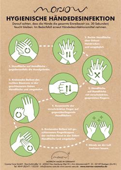 Hygienische Händedesinfektion